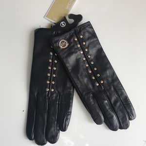 Micheal Kors Leather Gloves